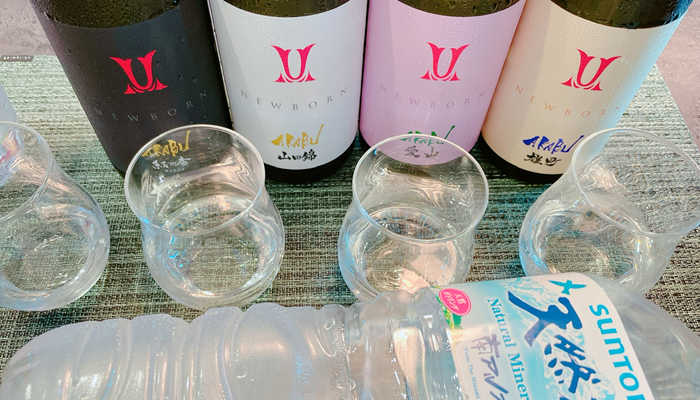 AKABU 酒米違いシリーズ(生酒)を飲み比べてみての感想は?