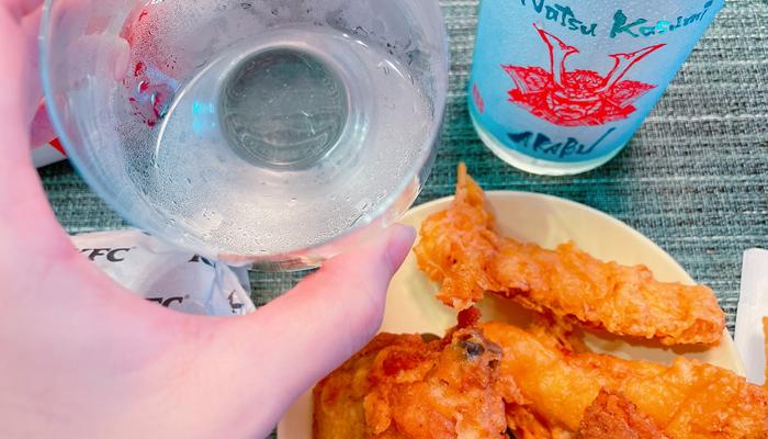 【実食】ケンタッキー × AKABU 純米 夏霞(なつかすみ)