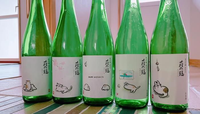 ねこ好きが歓喜する!萩の鶴「猫ラベルシリーズ」とは?